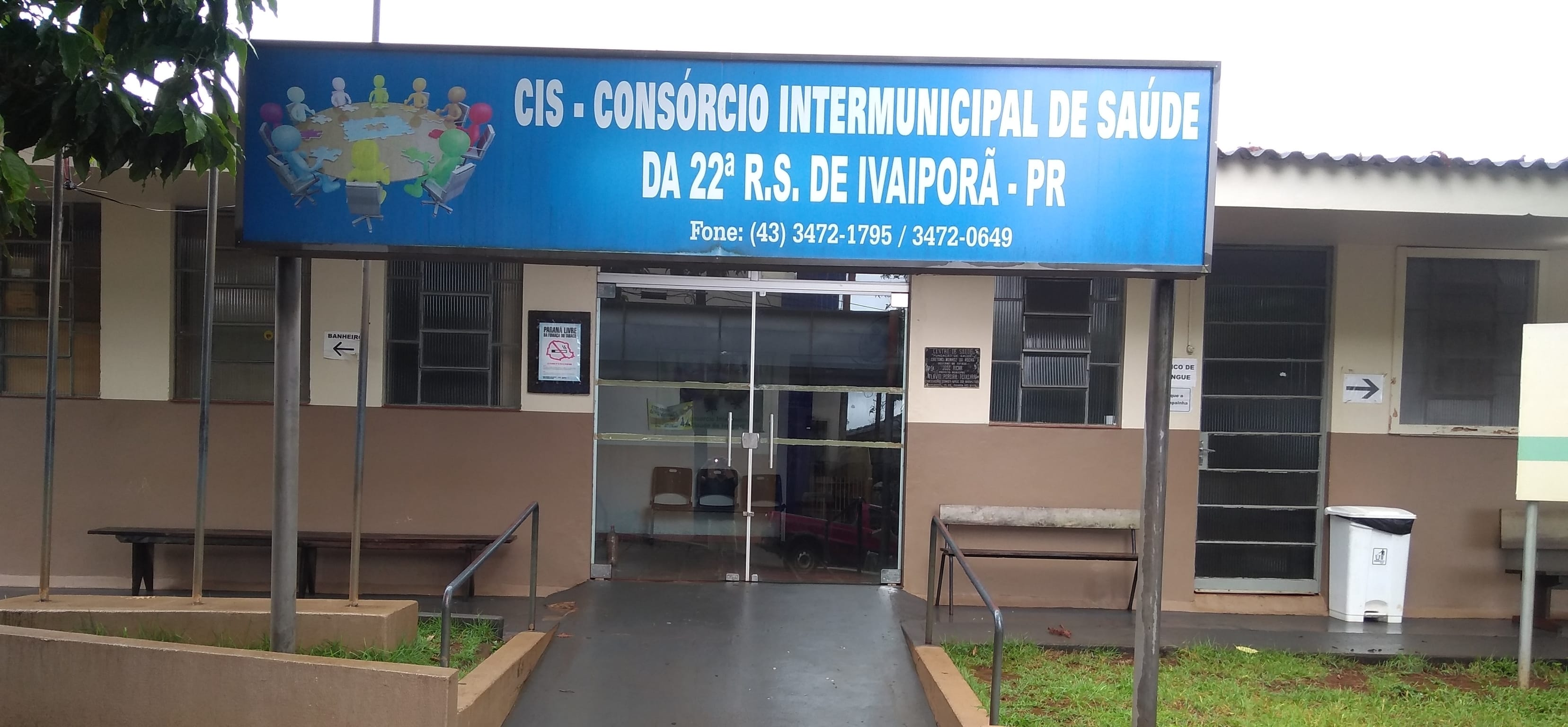 Foto da fachada do CIS